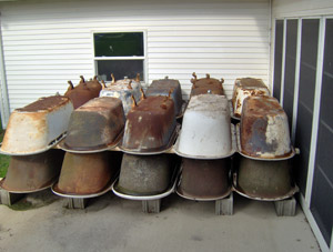 Antique Clawfoot Tubs for Sale
